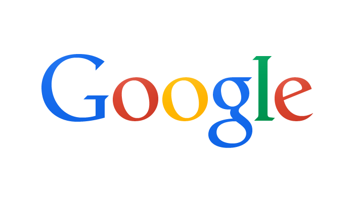 On September 19, 2013, Google released a new logo,dropping all the bevels and shadows of the previous incarnations. Also, some of the lettershapes were adjusted, simplifing the crossbar stroke in the 'e' and the terminals of several other letters.