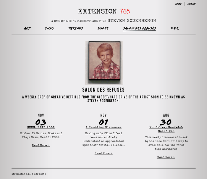 Extension 765: A Marketplace from Steven Soderbergh 1