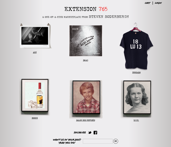 Extension 765: A Marketplace from Steven Soderbergh 3