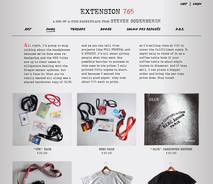 Extension 765: A Marketplace from Steven Soderbergh 4
