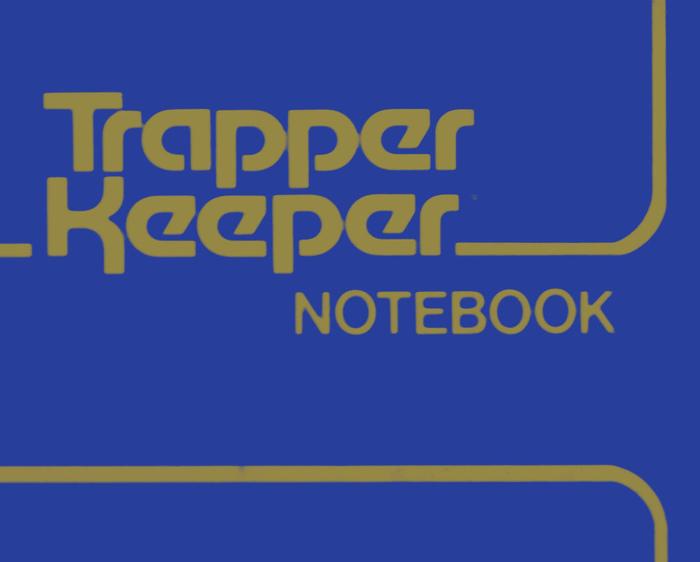 Trapper Keeper 6