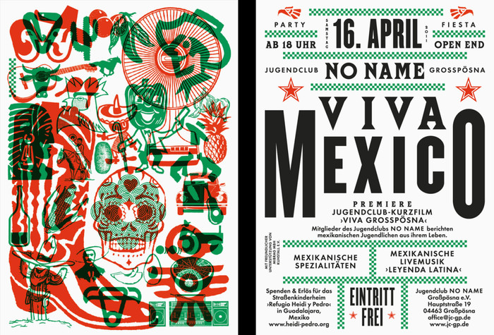 Viva Mexico Flyer