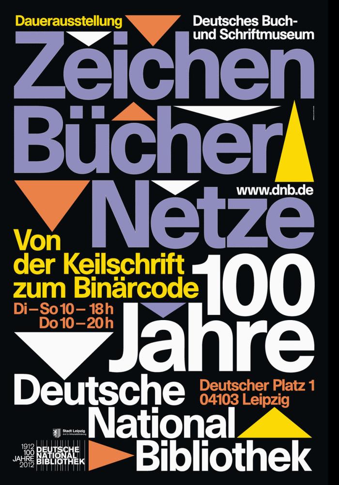 Zeichen Bücher Netze at Deutsche Nationalbibliothek 1