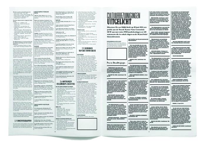 Rijksakademie van Beeldende Kunsten Amsterdam Verslag 2011 5