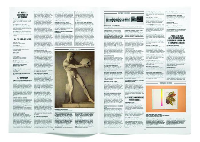 Rijksakademie van Beeldende Kunsten Amsterdam Verslag 2011 6