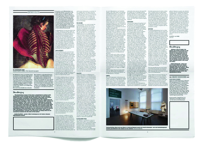 Rijksakademie van Beeldende Kunsten Amsterdam Verslag 2011 4