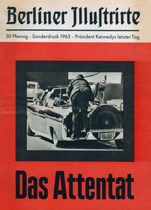 """Das Attentat"" – <cite>Berliner Illustrirte</cite> special edition"