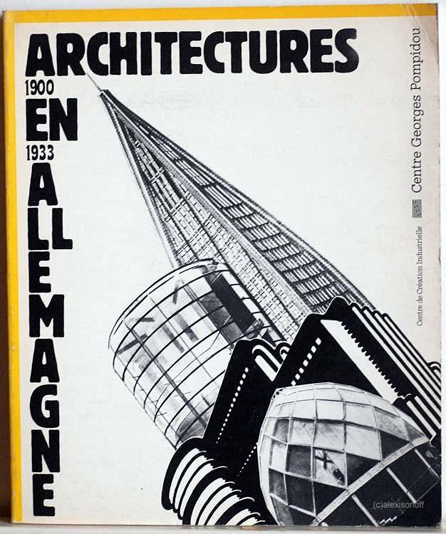 Architectures en Allemagne, 1900–1933