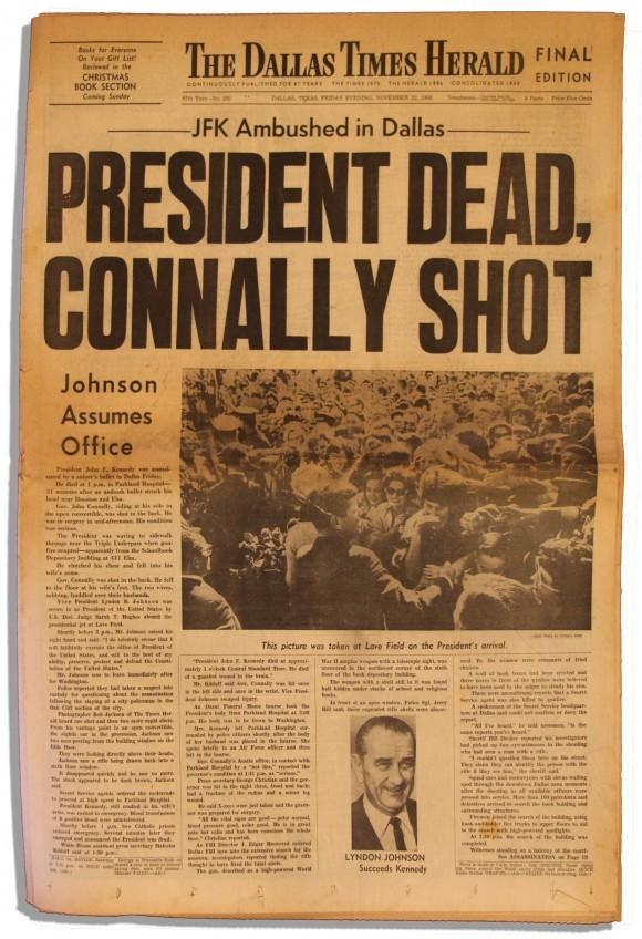 The Dallas Times Herald, Nov. 22, 1963 2
