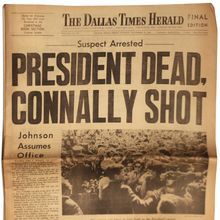 <cite>The Dallas Times Herald</cite>, Nov. 22, 1963