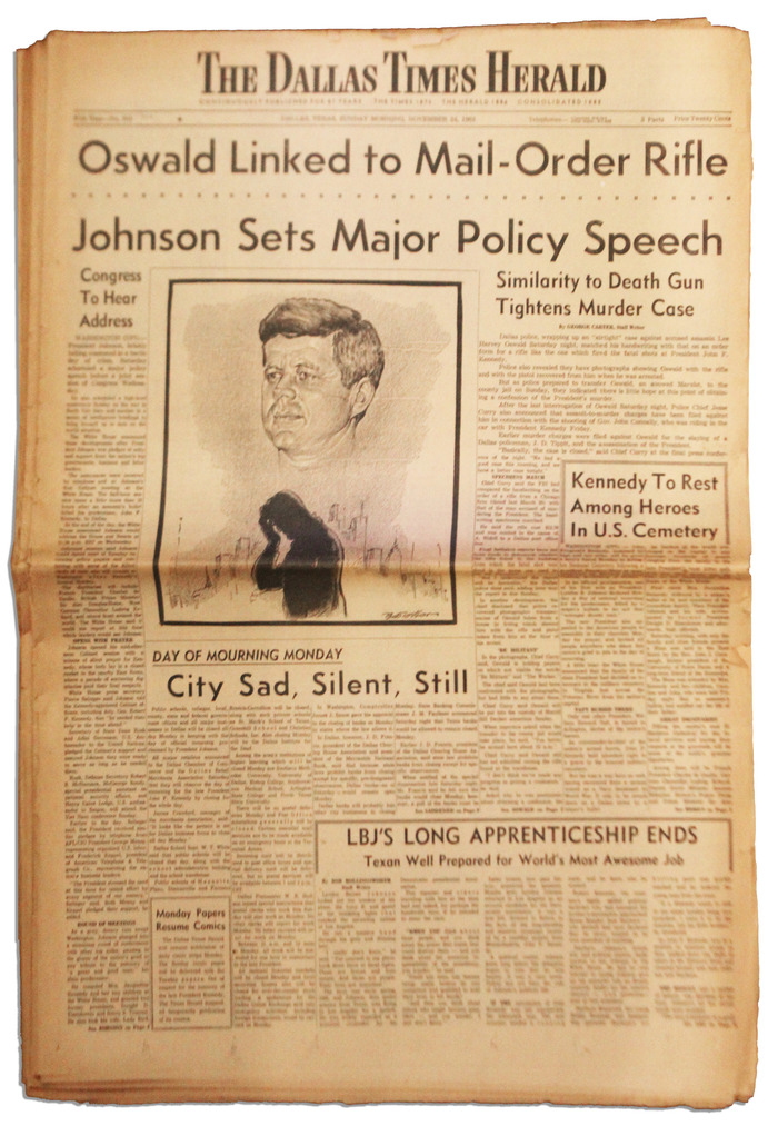 The Dallas Times Herald, Nov. 24, 1963
