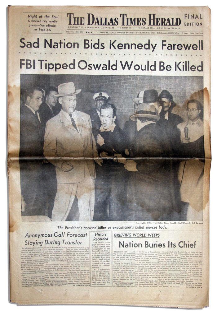 The Dallas Times Herald, Nov. 25, 1963