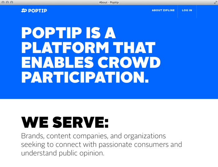 Poptip Website 8