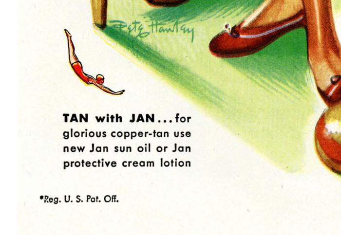 Jantzen Swimwear Ads, 1946–48 6