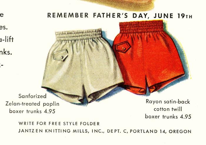 Jantzen Swimwear Ads, 1946–48 8