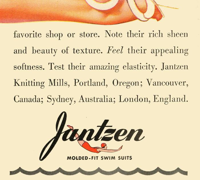 Jantzen Swimwear Ads, 1938–41 6