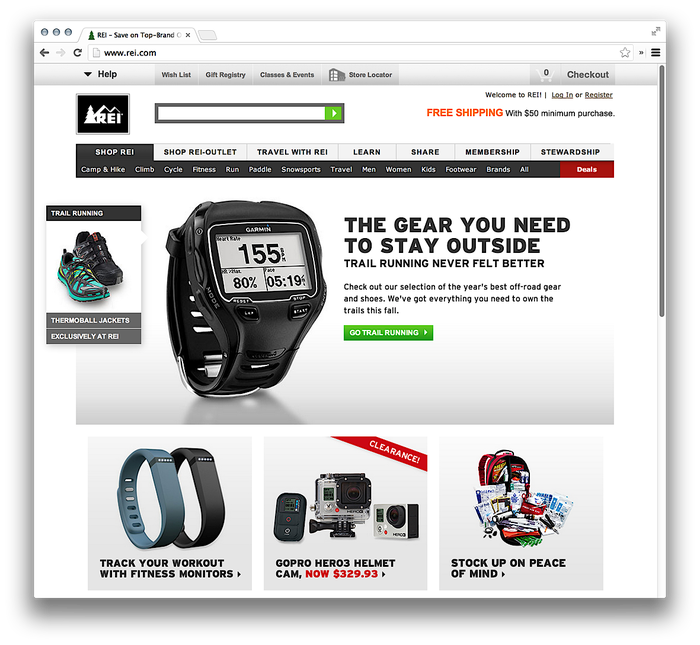 REI Websites, Catalog, and Video 2