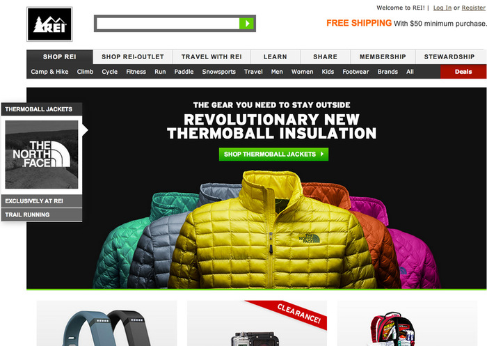 REI Websites, Catalog, and Video 3