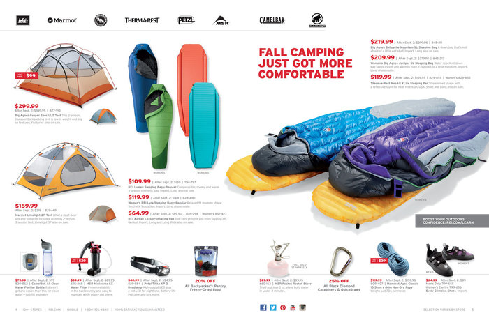 REI Websites, Catalog, and Video 13