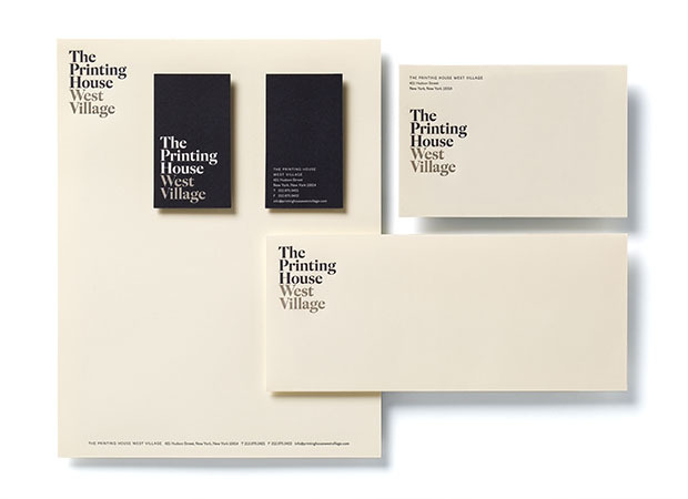 The Printing House identity 1