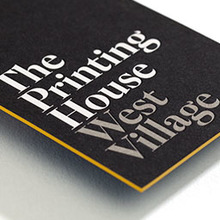 The Printing House identity