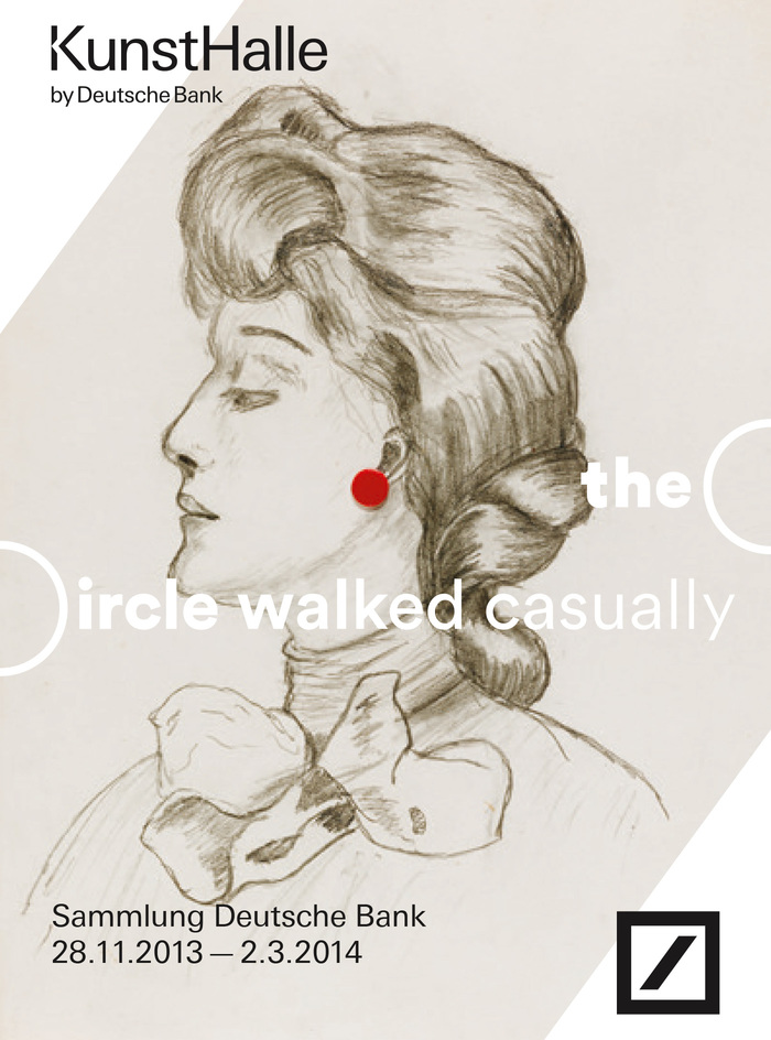 The Circle Walked Casually at Deutsche Bank KunstHalle 1