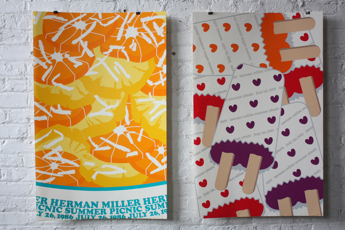 Herman Miller Summer Picnic Posters, 1986–89 1