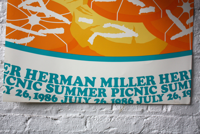Herman Miller Summer Picnic Posters, 1986–89 2