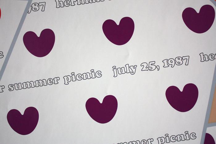 Herman Miller Summer Picnic Posters, 1986–89 3