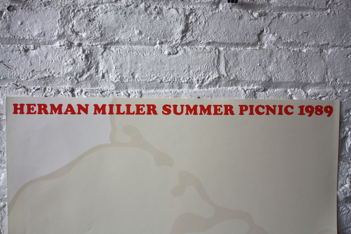 Herman Miller Summer Picnic Posters, 1986–89 4