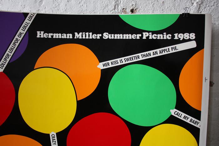 Herman Miller Summer Picnic Posters, 1986–89 5