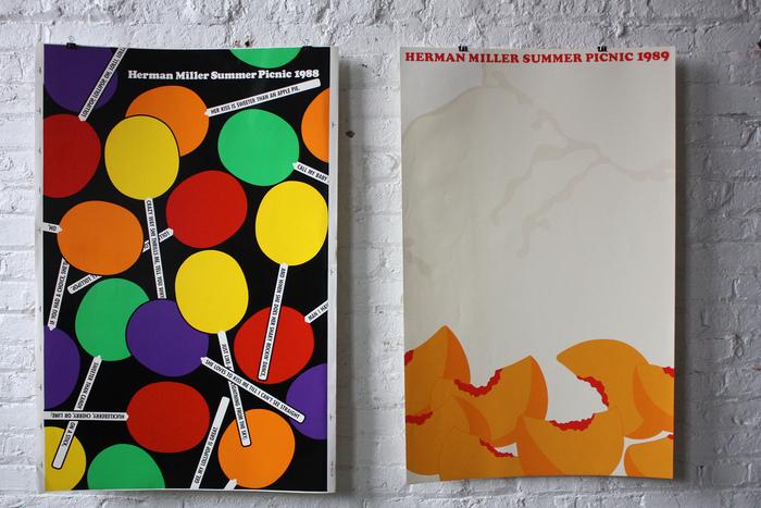 Herman Miller Summer Picnic Posters, 1986–89 6