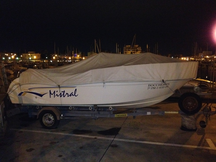 """Mistral"", the Boat"