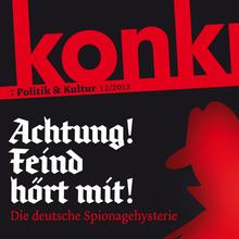 <cite>konkret</cite>, Issue 12/2013