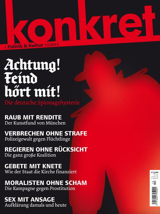 konkret, Issue 12/2013