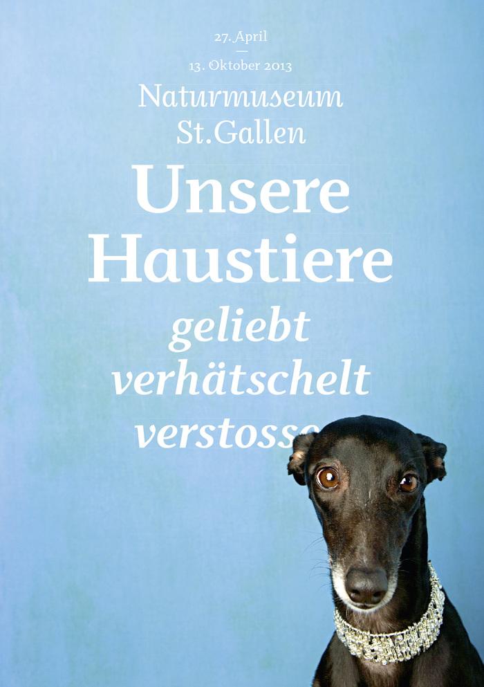 Unsere Haustiere at Naturkundemuseum St. Gallen 1