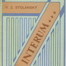 <cite>Ad Interum …</cite> by V. Z. Stolanský, Edice Serpentina