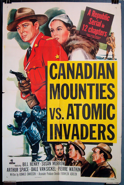 Canadian Mounties vs. Atomic Invaders movie serial poster