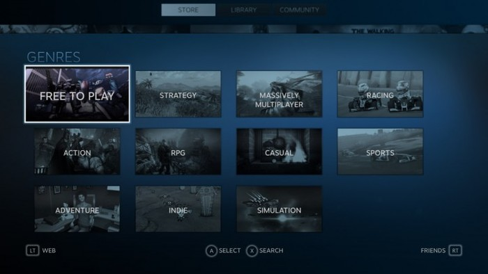 Valve's Steam Gaming Platform 2