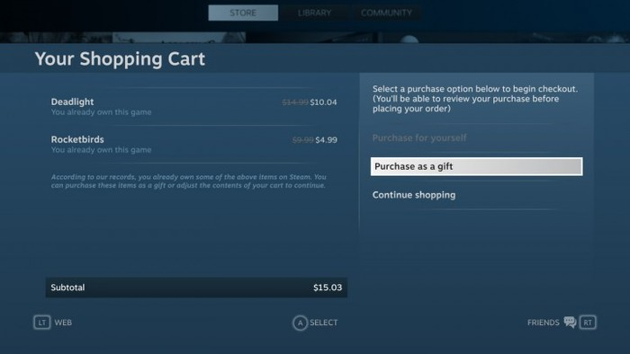 Valve's Steam Gaming Platform 6