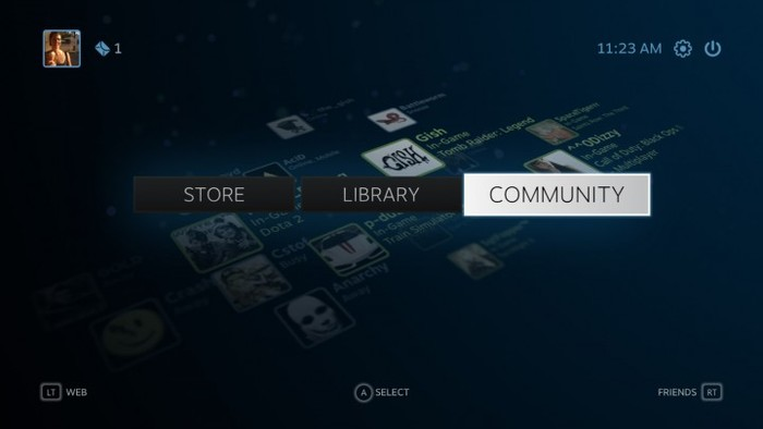 Valve's Steam Gaming Platform 5