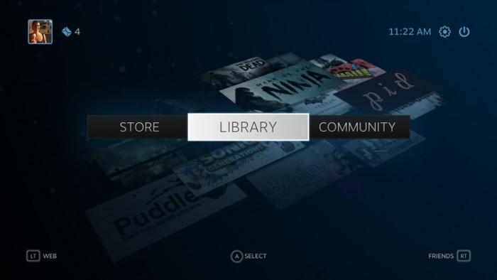 Valve's Steam Gaming Platform 3