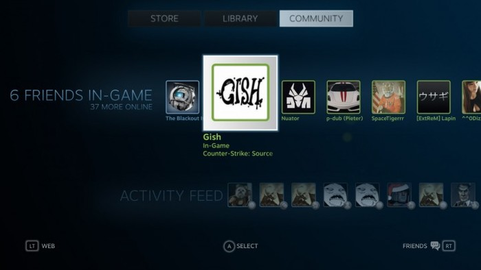 Valve's Steam Gaming Platform 4
