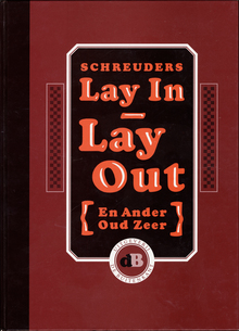 Cover for <cite>Lay In – Lay Out</cite> by Piet Schreuders