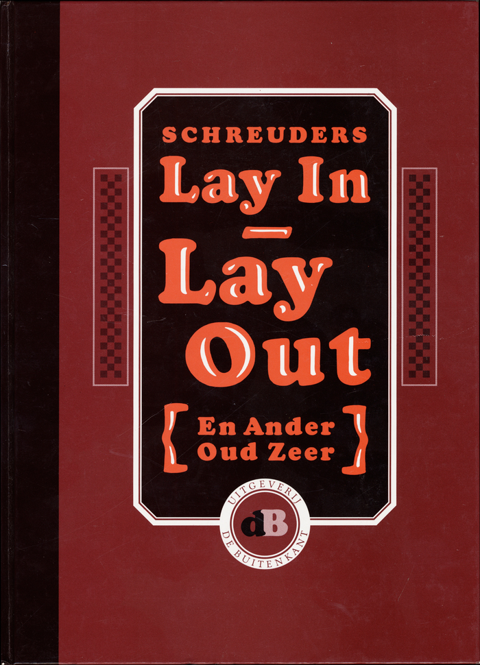 Cover for Lay In – Lay Out by Piet Schreuders