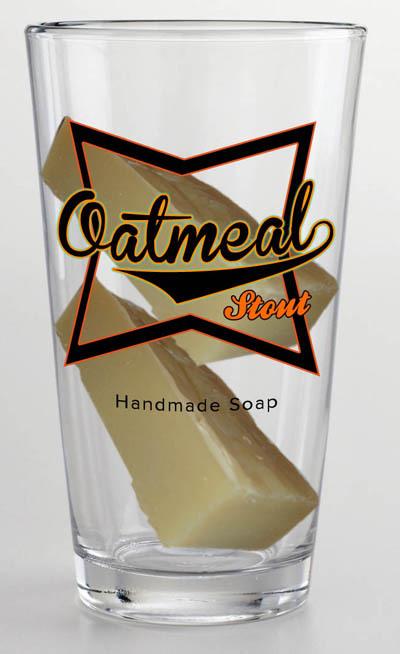 Oatmeal Stout Handmade Soap
