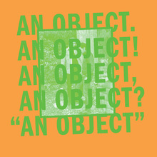No Age – <cite>An Object</cite> album art