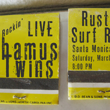 Shamus Twins Rusty's Surf Ranch