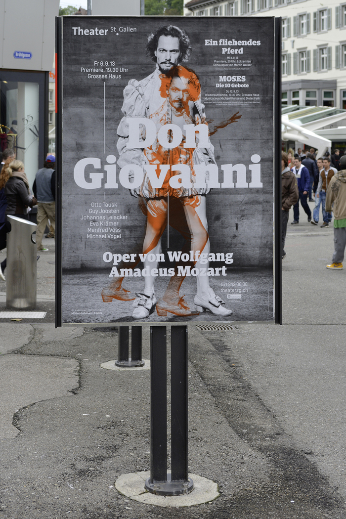 Posters for Theater / Sinfonieorchester St. Gallen 3