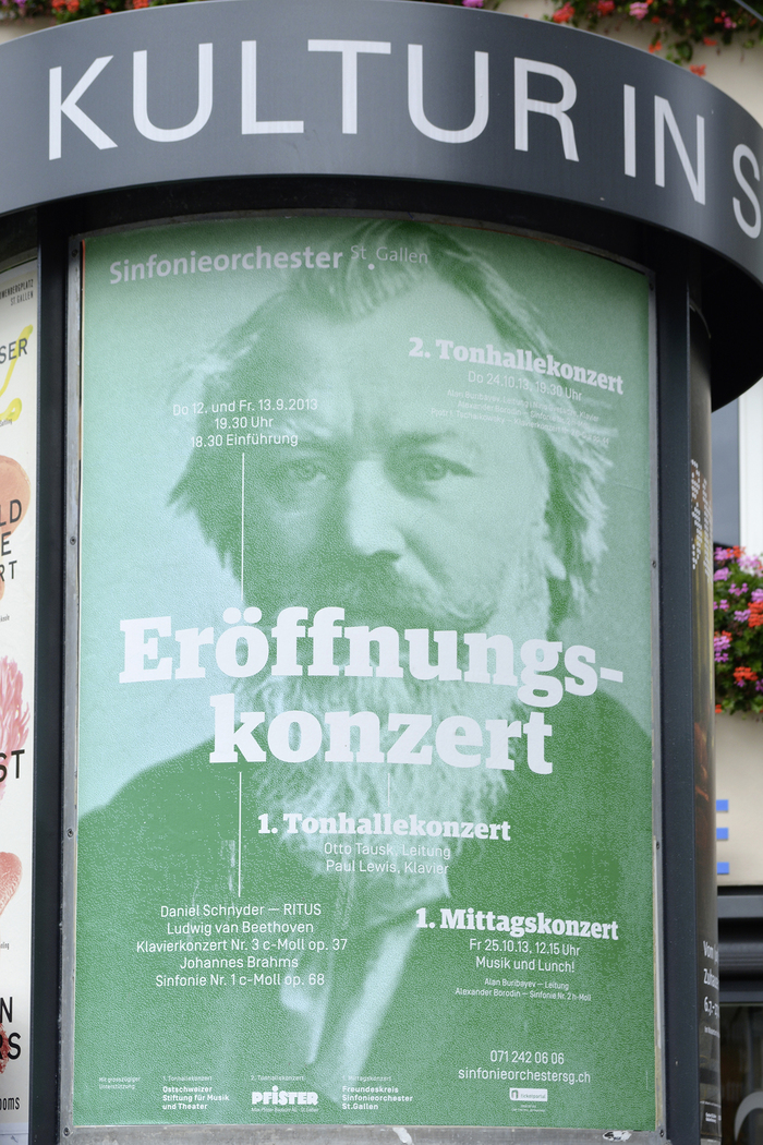 Posters for Theater / Sinfonieorchester St. Gallen 4